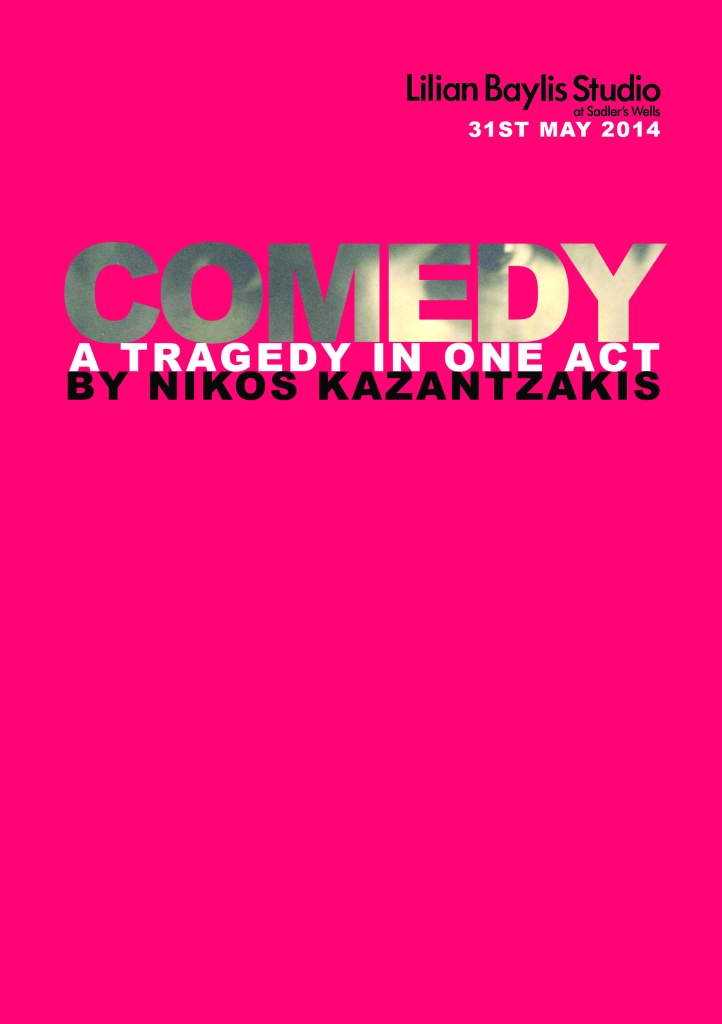 Comedy Programme Front Cover
